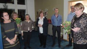 Styrelsen tackar av avgående ledamöter